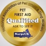 Animal first aid qualified
